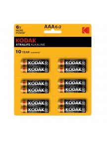 Kodak Xtralıfe 12 Adet Alkalin ince Pil - 6x2(AAA)
